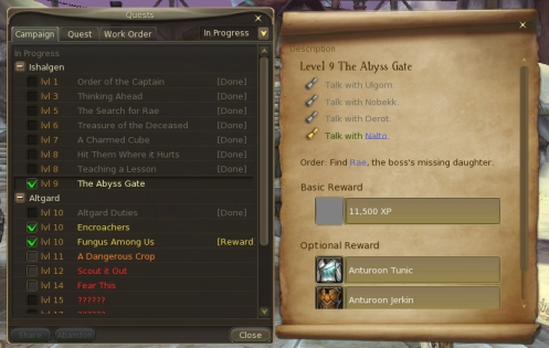 Quests Info